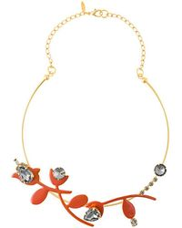Marni - Floral Necklace - Lyst