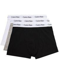Calvin Klein Set de bóxeres - Negro