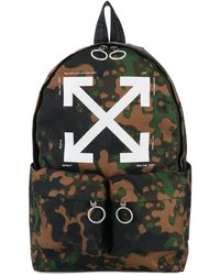 Off-White c/o Virgil Abloh - Camouflage Arrow Backpack - Lyst