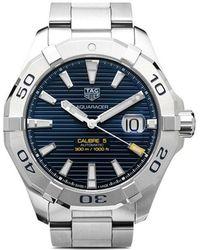 Tag Heuer Reloj Aquaracer Calibre 5 43mm - Azul