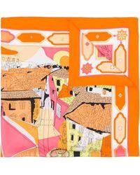 Emilio Pucci Платок С Принтом 'florence' - Многоцветный