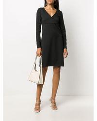 Victoria, Victoria Beckham エンパイアライン ドレス - ブラック
