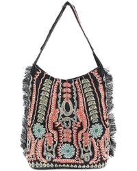 Antik Batik - Embroidered Detail Shoulder Bag - Lyst