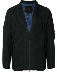 The North Face - Zipped Fitted Jacket - Lyst