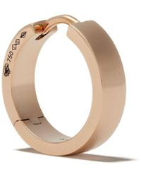 Le Gramme 18kt Polished Red Gold 31/10g Ribbon Earring - Metallic