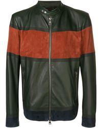 Etro Панельная Байкерская Куртка - Многоцветный