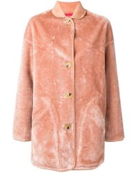 PS by Paul Smith - Reversible Oversized Coat - Lyst