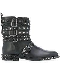 Twin Set Ботинки С Пряжками - Черный