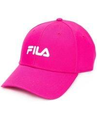 Fila ロゴ キャップ - ピンク