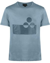 Peuterey ロゴ Tシャツ - ブルー