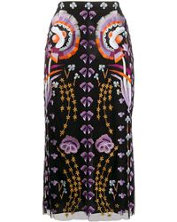 Temperley London Effie チュールスカート - ブラック