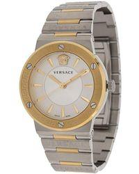 Versace メデューサ&グレカ 38mm 腕時計 - マルチカラー