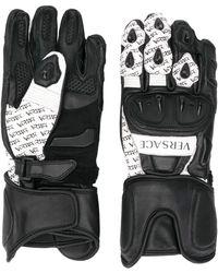 Versace Перчатки С Логотипом - Черный