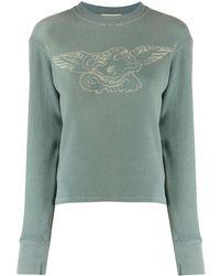 Yeezy Sweater Met Slangenpatroon - Meerkleurig