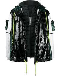Iceberg レイヤード ジャケット - ブラック