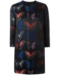 Philipp Plein - Butterfly Patterned Coat - Lyst