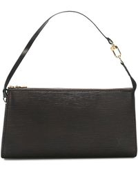 Louis Vuitton Borsa a mano Epi Pochette Accessoires Pre-owned 2008 - Nero