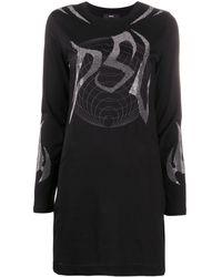 DIESEL - ビジュー ロングtシャツ - Lyst