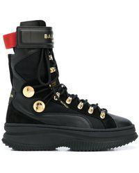 PUMA X Balmain 'deva' ブーツ - ブラック