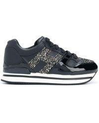 Hogan Flatforme Low-top Sneakers - Черный