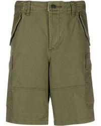Polo Ralph Lauren Knee-length Cargo Shorts - Green