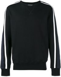 Alexander McQueen Side Stripe Sweatshirt - Black