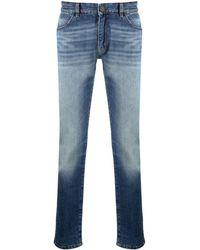 PT01 ローライズ ストレートジーンズ - ブルー