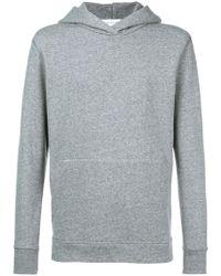John Elliott - Side Zip Hooded Sweatshirt - Lyst