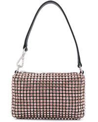 Alexander Wang Мини-сумка Wangloc Со Стразами - Розовый