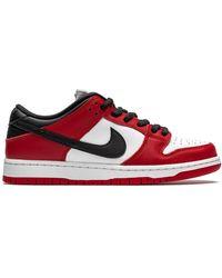 Nike Кроссовки Sb Dunk Low Pro - Красный