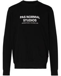 Pas Normal Studios Толстовка Off Race С Логотипом - Черный