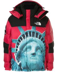 Supreme X The North Face Baltoro Jacket - Red