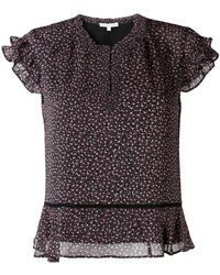 Rebecca Minkoff - Floral print blouse - Lyst