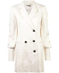 Hellessy - Long Line Double Breasted Blazer - Lyst