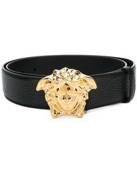 Versace - Medusa Buckle Belt - Lyst