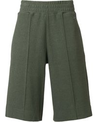 Courreges Oversized Pull-on Shorts - Green