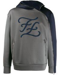 Fendi - Hoodie Met Logo - Lyst