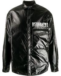 DSquared² - コントラスト パデッドジャケット - Lyst
