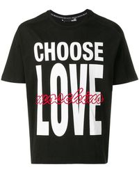 Love Moschino - 'Choose Love' T-Shirt - Lyst