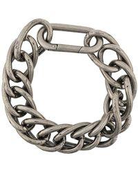 Goti Bracelet à détail de breloque - Métallisé