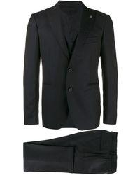 Tagliatore Dreiteiliger Anzug - Blau