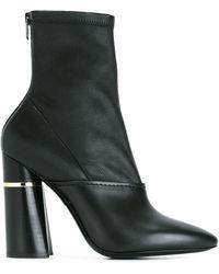 3.1 Phillip Lim Kyoto Stretch Boots - Black