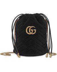 Gucci GG Marmont Tas - Zwart