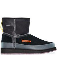 Heron Preston X UGG Classic Mini Tech Panelled Boots - Black
