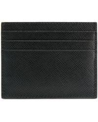 Prada モノクローム カードケース - ブラック