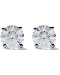De Beers - Platinum My First Db Classic Diamond Stud Earrings - Lyst