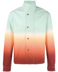 J.W. Anderson | Standing Collar Buttoned Jacket | Lyst