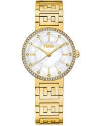 Fendi フォーエバーフェンディ 腕時計 - メタリック