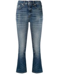 Department 5 - Cropped Slim-fit Jeans - Lyst