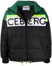 Iceberg - ロゴ パデッドコート - Lyst